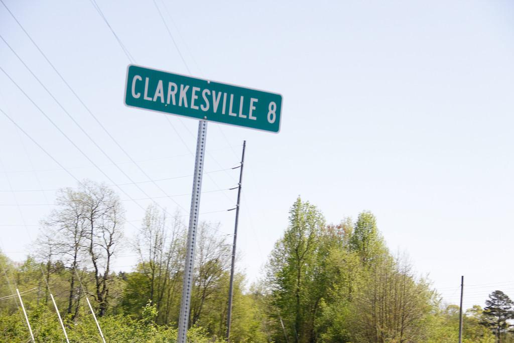 Clarksville Sign