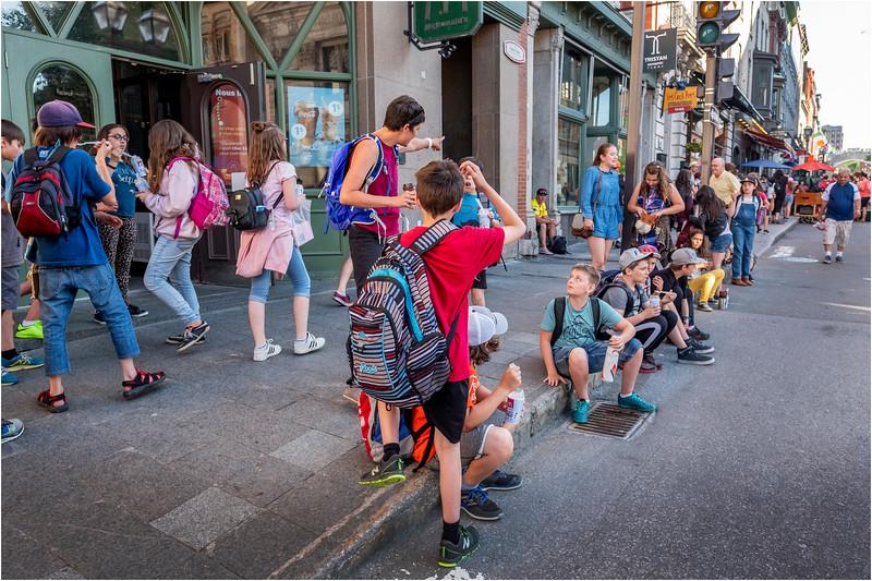 Canada Quebec PQ 56 Rue St Jean Upper Town June 2018