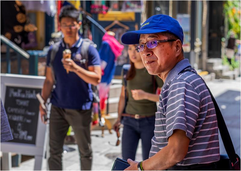 Canada Quebec PQ 98 Rue Petit Champlain Lower Town June 2018
