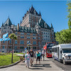 Canada Quebec PQ 28 Chateau Frontenac June 2018