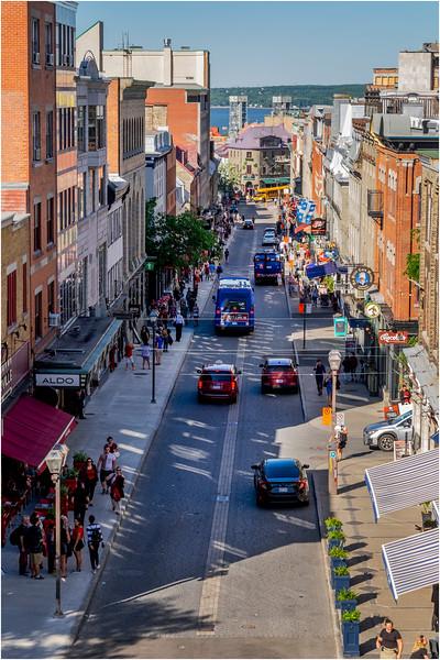 Canada Quebec PQ 121 Rue St Jean Upper Town June 2018