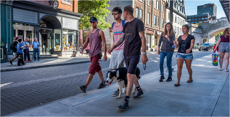 Canada Quebec PQ 53 Rue St Jean Upper Town June 2018