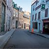 Canada Quebec PQ 60 Rue Cuillard Upper Town June 2018