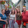 Canada Quebec PQ Jenna, Tom and Clarks Rue Petit Champlain 1 June 2018