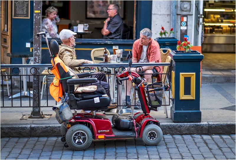 Canada Quebec PQ 126 Rue St Jean Upper Town June 2018