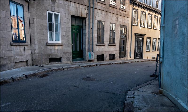 Canada Quebec PQ 62 Rue Cuillard Upper Town June 2018
