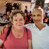 Canada Quebec PQ Kathy and Bob Clark 3 Rue Petit Champlain June 2018