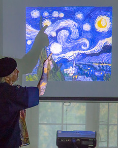 20171010-IMG_2646 Pete Mejendie with Vincent's Starry Night