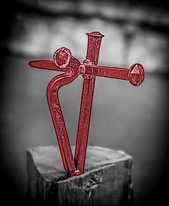 IMG_9116 Majendie Crucifix Red 4