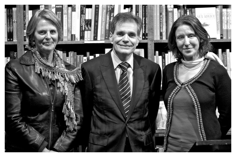 """[L to R] Lyn Allison, Parliamentarian and recipient of <a href=""""http://www.humanist.org.au/"""">Australian Humanist of the Year Award</a> 2008, <a href=""""http://www.highcourtchallenge.com"""">Ron WIlliams</a> recipient of <a href=""""http://www.humanist.org.au/"""">Australian Humanist of the Year Award</a> 2012, and <a href=""""http://cannold.com/"""">Leslie Cannold</a>, author, ethicist and recipient of <a href=""""http://www.humanist.org.au/"""">Australian Humanist of the Year Award</a> 2011."""