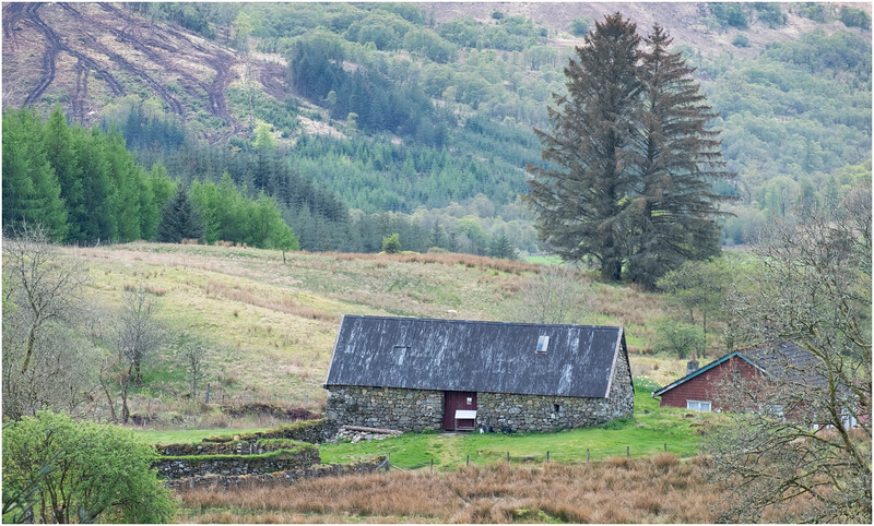 Scotland Highlands Tulich A819  Cottage 3 May 2019