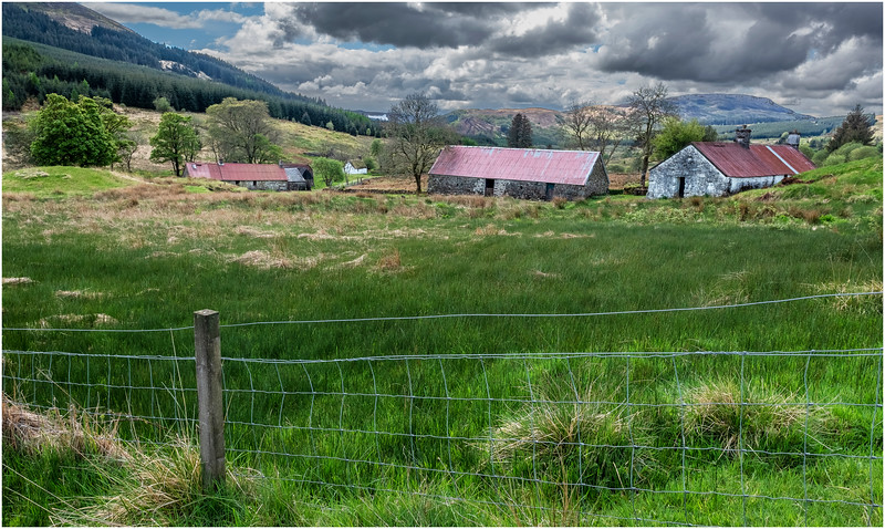 Scotland Highlands Tulich A819 Cottage 8 May 2019