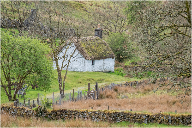 Scotland Highlands Tulich A819  Cottage 6 May 2019