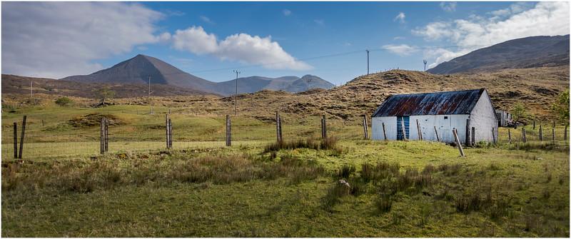 Scotland Isle of Skye Barn 4 May 2019