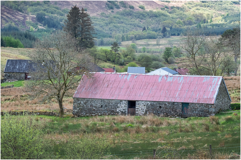 Scotland Highlands Tulich A819  Cottage 4 May 2019