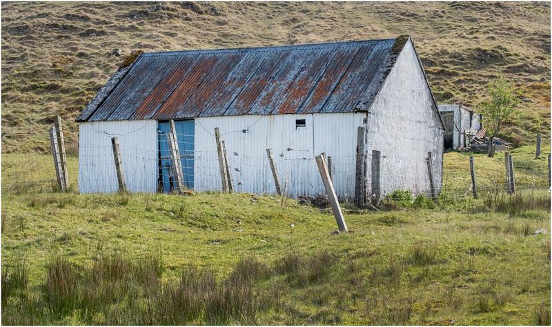 Scotland Isle of Skye Barn 3 May 2019