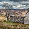 Scotland Cairngorm Cottage Ruins A924 north of Pitlochry 29 May 2019