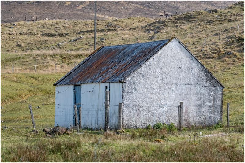 Scotland Isle of Skye Barn 2 May 2019