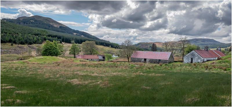 Scotland Highlands Beinn GhlasTulich A819 Cottage 9 May 2019