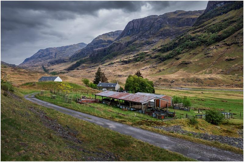 Scotland Glencoe Farm May 2019