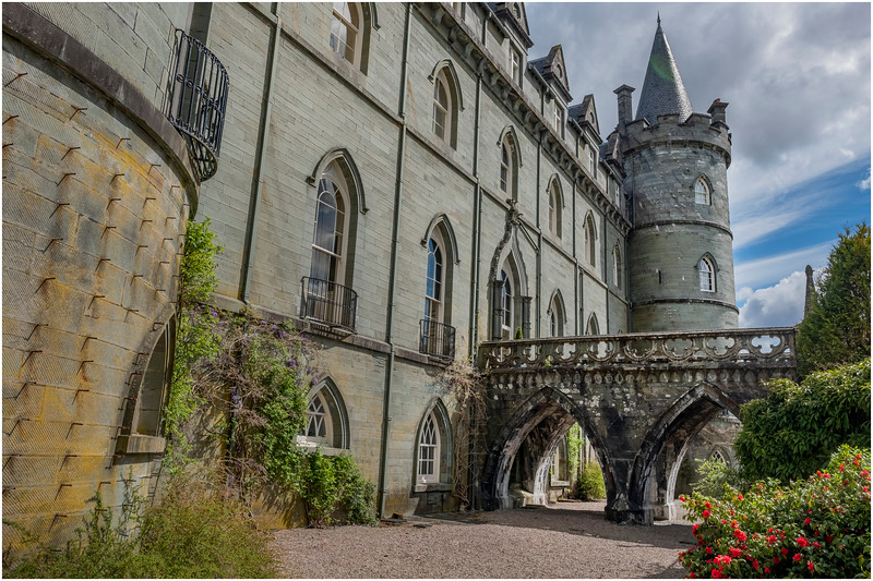 Scotland Inveraray Castle Interior 12 May 2019