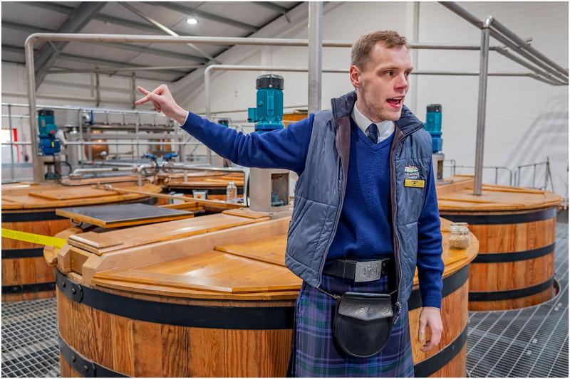 Scotland Edradour Distillery Interior 3 May 2019