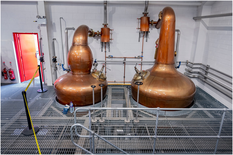 Scotland Edradour Distillery Interior 6 May 2019