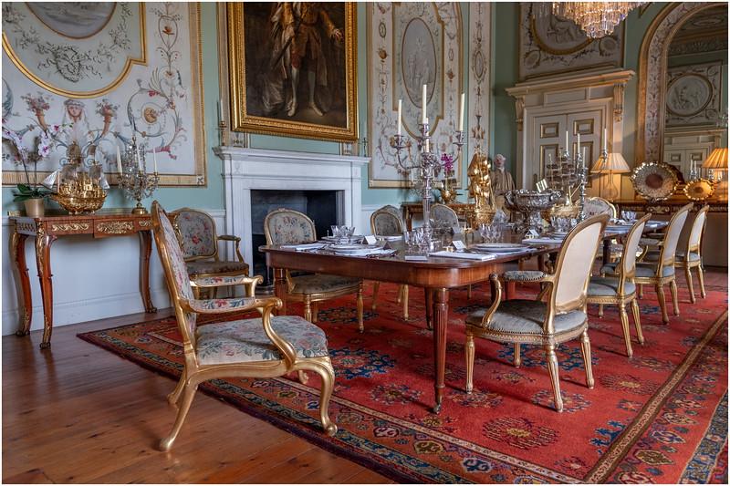 Scotland Inveraray Castle Interior 1 May 2019