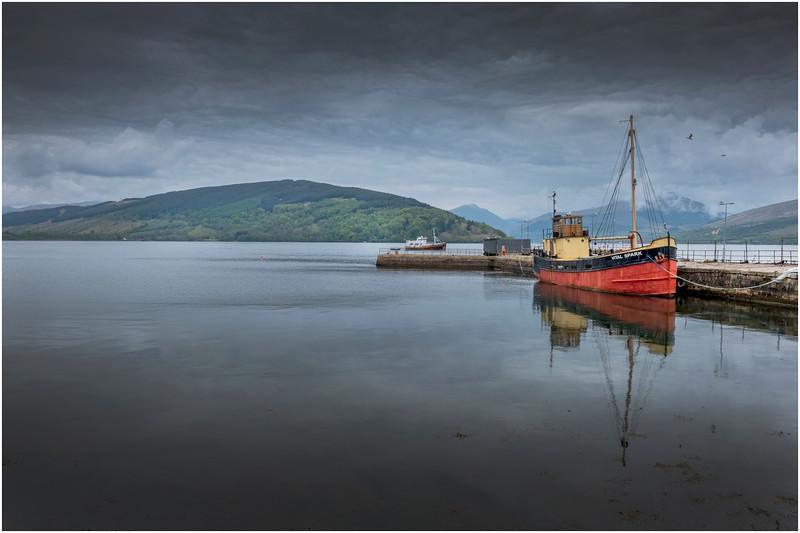 Scotland Loch Fyne Inveraray 1 May 2019