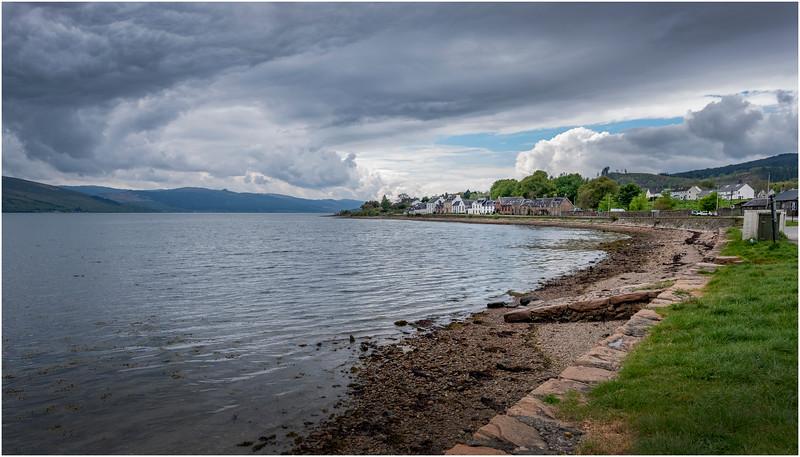 Scotland Loch Fyne Inveraray May 2019