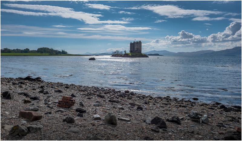 Scotland Loch Linnhe Castle Stalker 1 May 2019