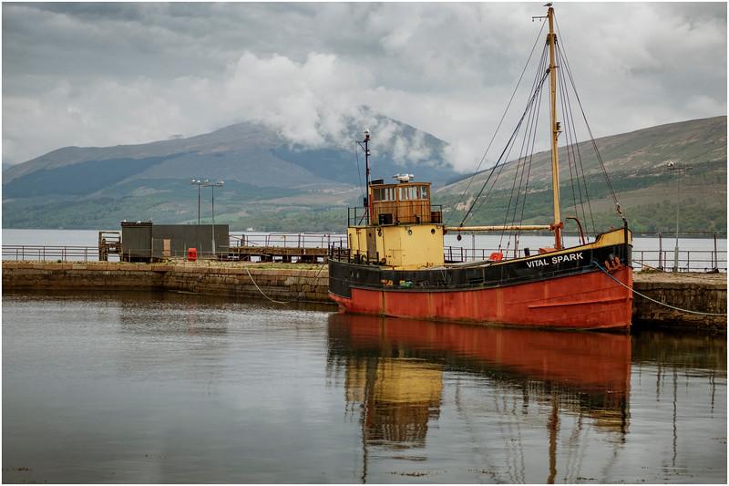 Scotland Loch Fyne Invararay 2 May 2019