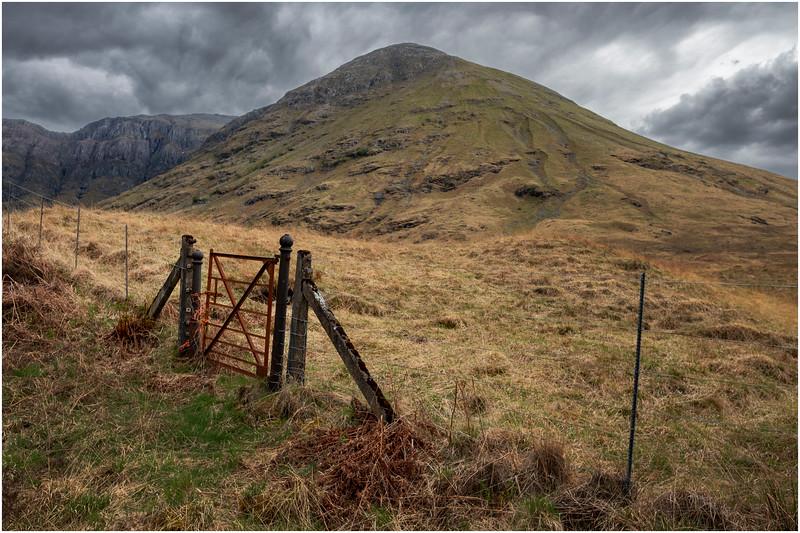 Scotland Glen Coe Highlands 1 May 2019