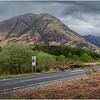 Scotland Glen Coe Highlands 3 May 2019