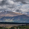 Scotland Peaks from A87 on the way to Skye 2 May 2019