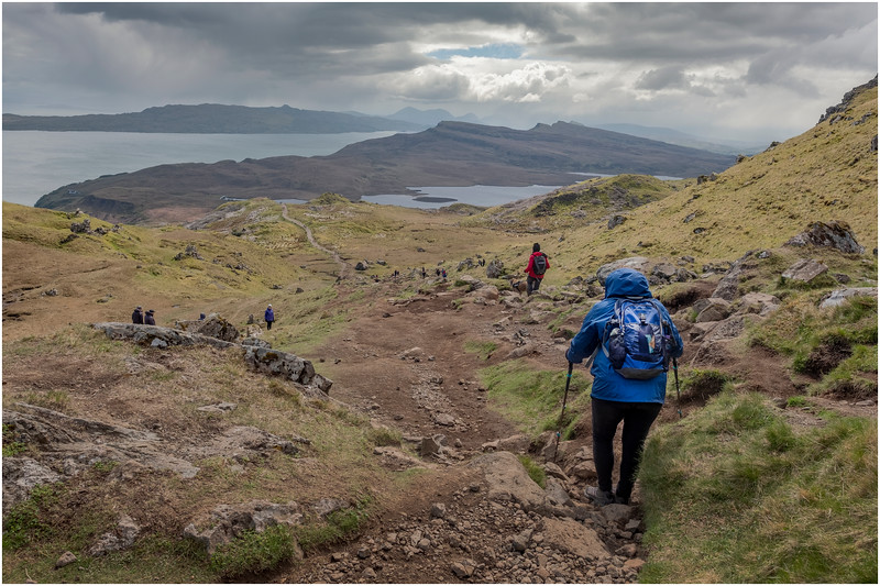 Scotland Isle of Skye The Storr Hikers 12 May 2019