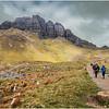 Scotland Isle of Skye The Storr Hikers 4 May 2019