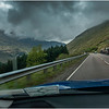 Scotland The A83 West of Loch Long Glen Croe  Roadscape 3 May 2019