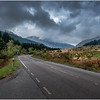 Scotland The A83 West of Loch Long Glen Croe Roadscape 1 May 2019