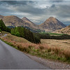 Scotland Glen Etive Roadscape 2 May 2019