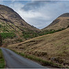Scotland Glen Etive Roadscape 1 May 2019