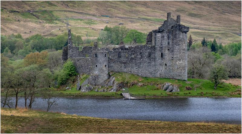 Scotland Loch Awe Kilchurn Castle 24 May 2019