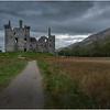 Scotland Loch Awe Kilchurn Castle 1 May 2019