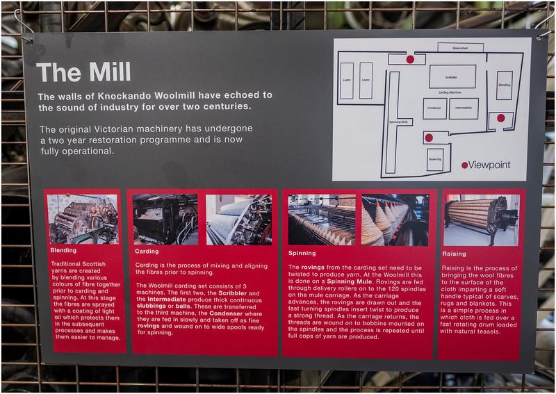 Scotland  Knockando Woolen Mill 12 May 2019