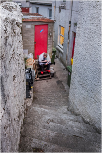 Scotland Isle of Skye Portree 13 May 2019