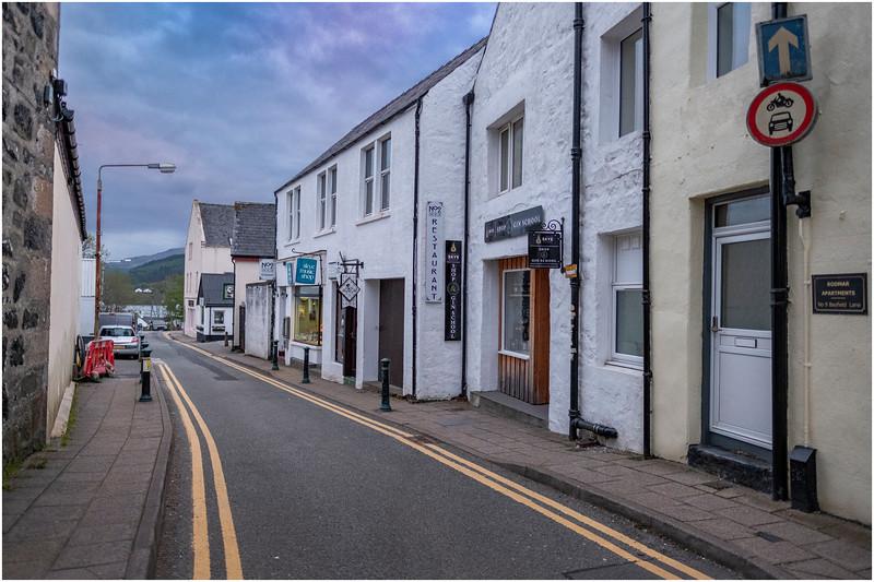 Scotland Isle of Skye Portree 20 May 2019