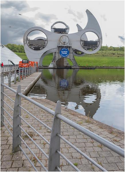 Scotland Falkirk Wheel 8 May 2019