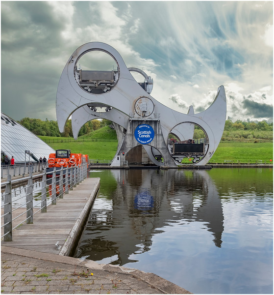 Scotland Falkirk Wheel 7 May 2019