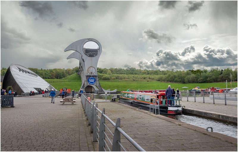 Scotland Falkirk Wheel 6 May 2019