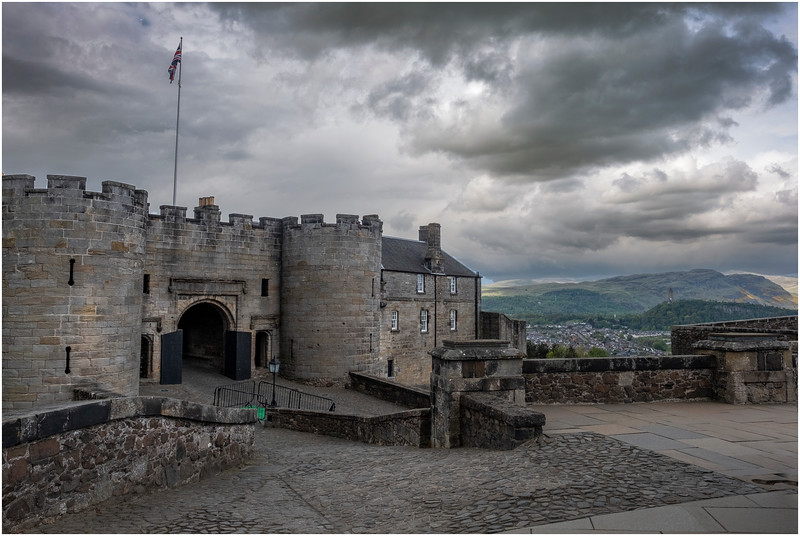 Scotland Stirling Castle 6 May 2019